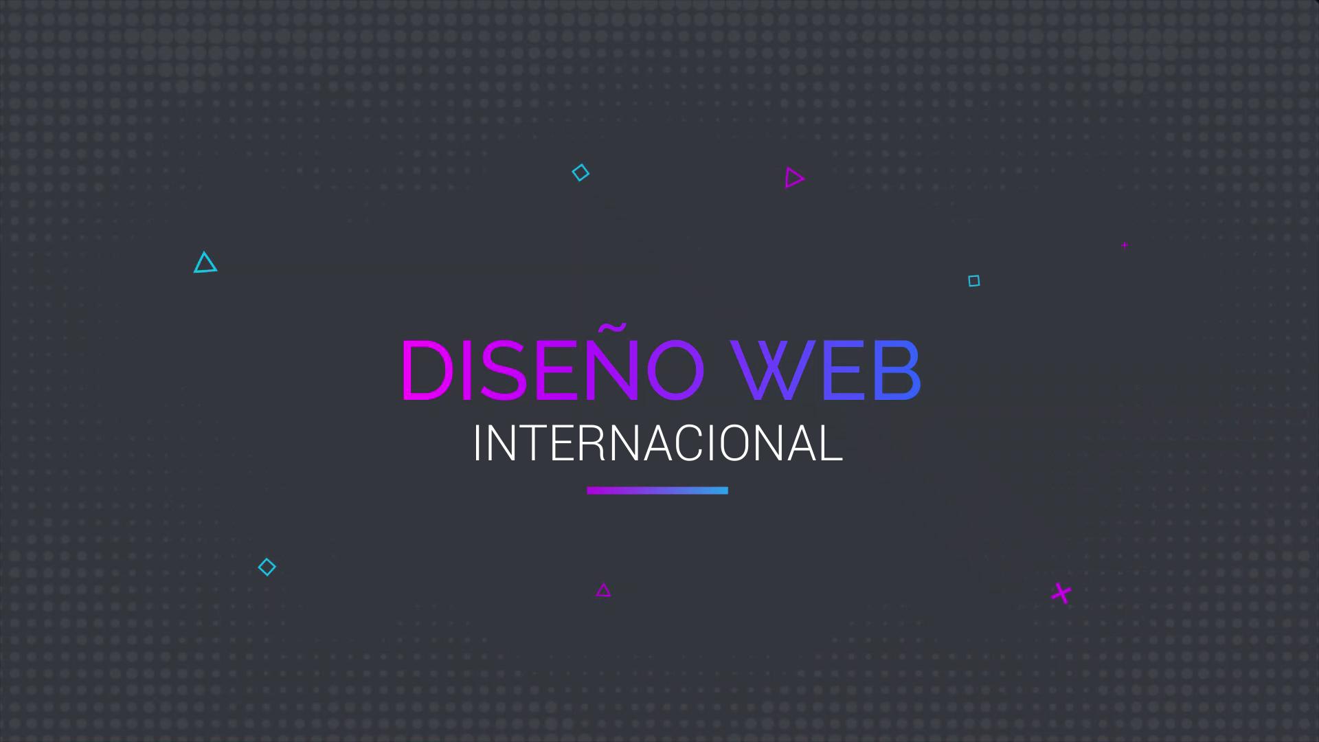 Diseño Web Internacional Academia Simple