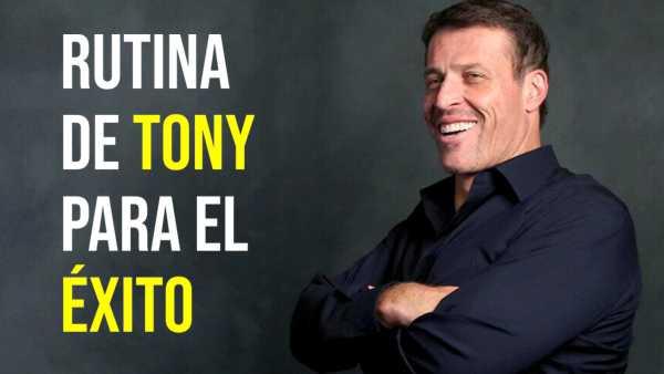 RUTINA DE TONY ROBBINS